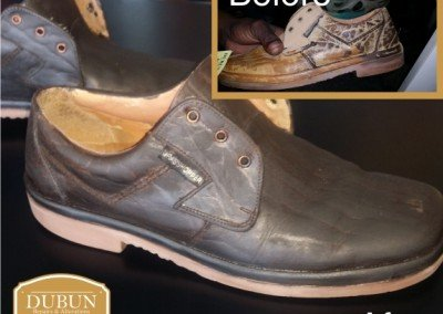 Mens Leather Shoe Repairs